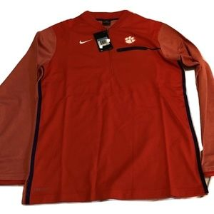 Clemson Tigers Nike Dri-Fit HZ Coaches Jacket